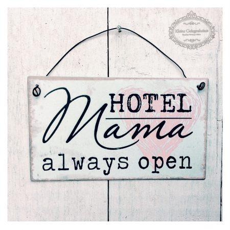 "METALLSCHILD ""Hotel Mama..."
