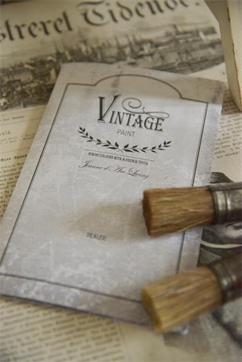 Jeanne d'Arc Living Farbkarte Vintage Paint