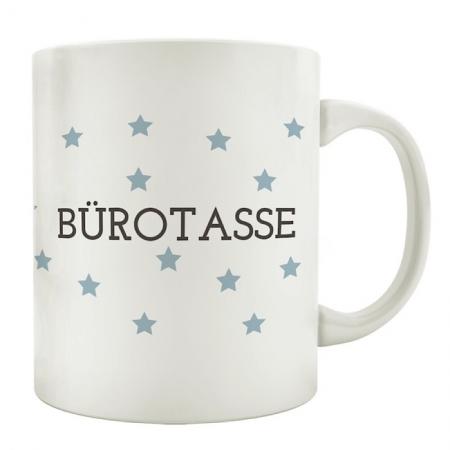 Tasse mit Spruch *Bürotasse