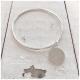 Joma Jewellery ArmReifen mit Plakette in Silber