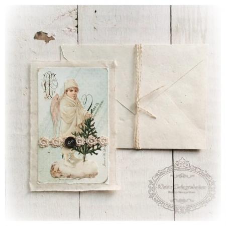 Jeanne d'Arc Living Karte mit Umschlag Winter