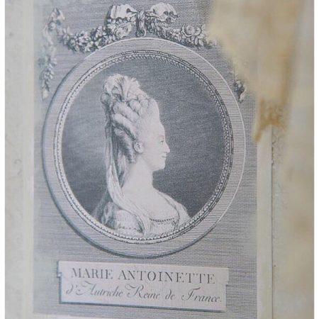 VINTAGE BILD Marie Antoinette Jeanne d'Arc Living