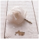 Jeanne d'Arc Living Haarnadel Blume Tüll Cream