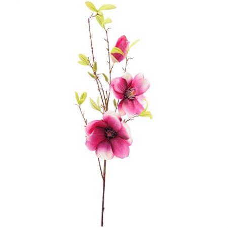 Magnolie Magenta Kunstblume