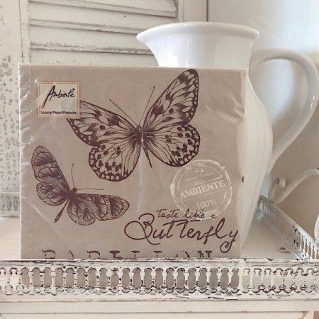Papierservietten Schmetterling