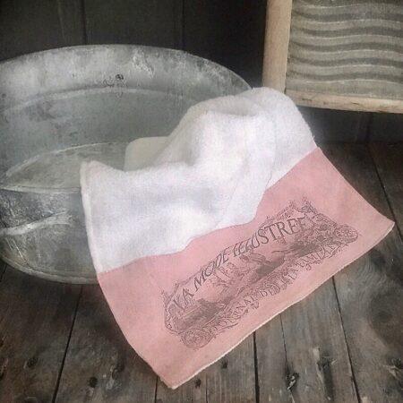Handtuch Toile de Jouy
