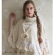 PONCHO mit Spitze Jeanne d'Arc Living Gr.XS-S