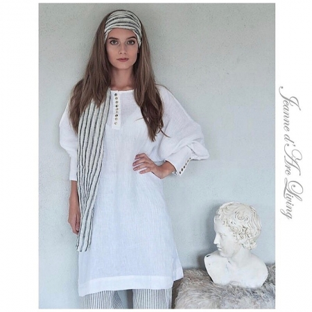 LEINENKLEID Kleid Langarm Jeanne d'Arc Living