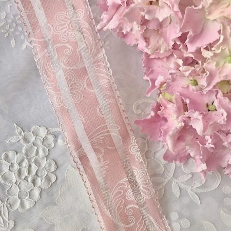 SchleifenBand breit Rosa 2m
