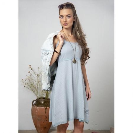 Jeanne d'Arc Living Vintage Kleid Hellblau Gr.XS-S
