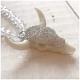Sarabella Halskette Perlen Bullenkopf