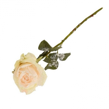 ROSE Cream geeist Kunstblume