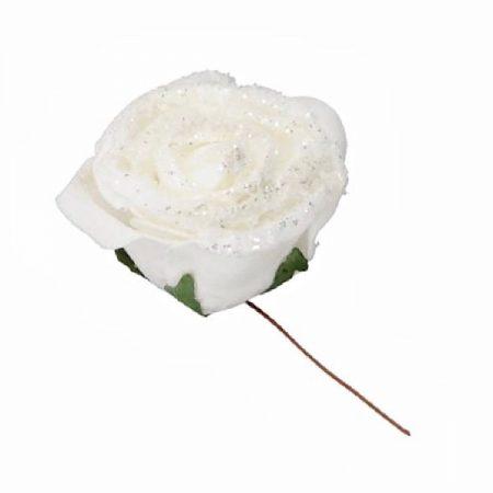 SchaumRose Weiss gezuckert Ø 5×4 cm