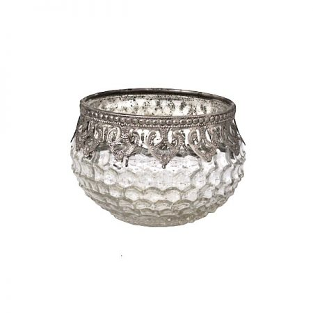 Chic Antique Windlicht Dekor Silber