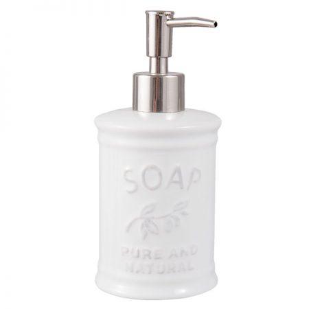 Clayre & Eef Nostalgie Seifenspender SOAP
