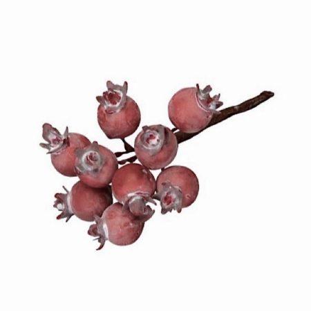 Beeren Pick Rot Hagebutte L.9 cm