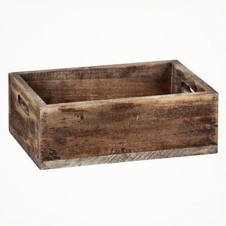 Holzkiste 30×21×10.5 cm