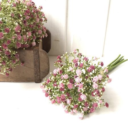 BlumenBündel SchleierKraut Rosa