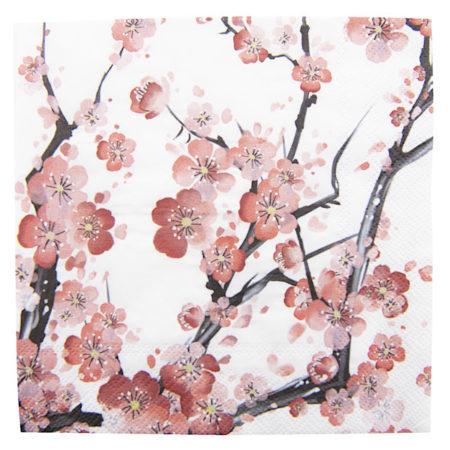 Clayre & Eef * PapierServietten Blütenzweige