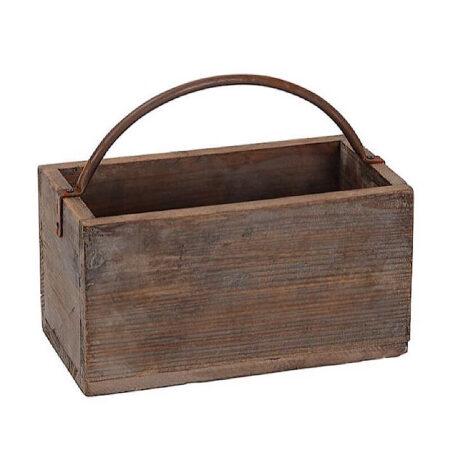 HolzKasten Antik Braun 30*16*H.26cm