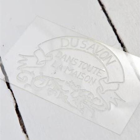 Schablone Du Savon Kunststoff Jeanne d'Arc Living