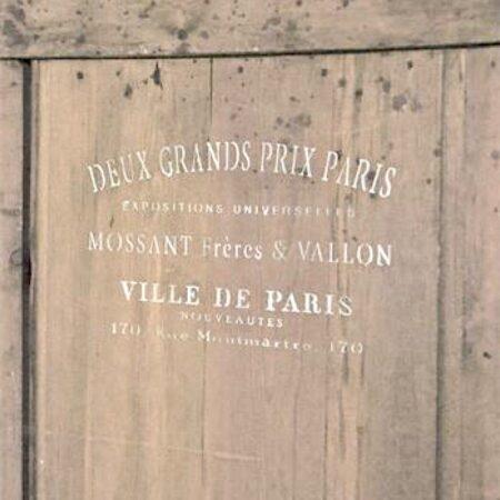 Jeanne d'Arc Living Schablone VILLE DE PARIS