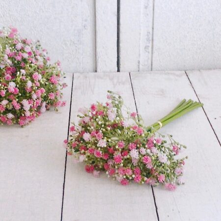 BlumenBündel SchleierKraut Rosa – Rot