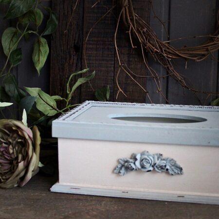Chic Antique Vase Toulouse mit Vintage Rosen