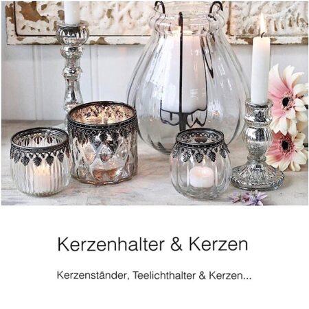 Chic Antique Kerzen & Kerzenhalter