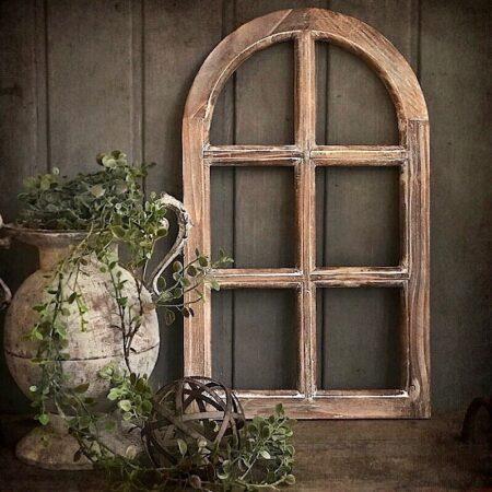 FensterRahmen Holz Braun